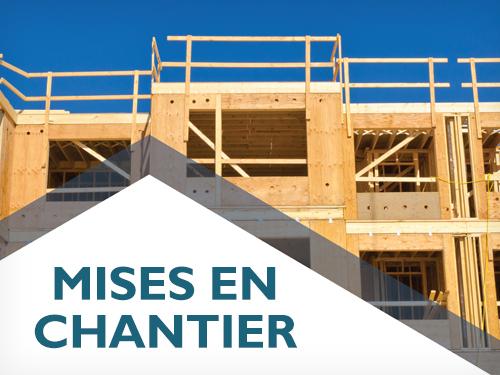 Baisse de la tendance des mises en chantier d'habitations en mai