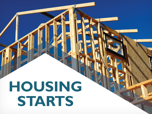 National trend in housing starts increased in July