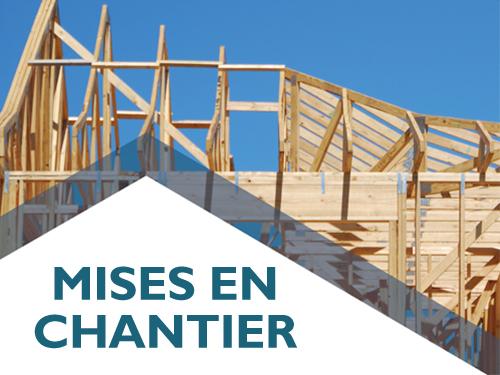 Les mises en chantier de maisons en rangée et d'appartements entraînent la hausse en juin