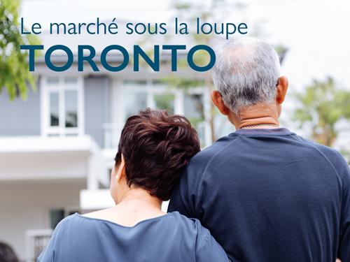 25% des logements à Toronto appartiennent à des aînés
