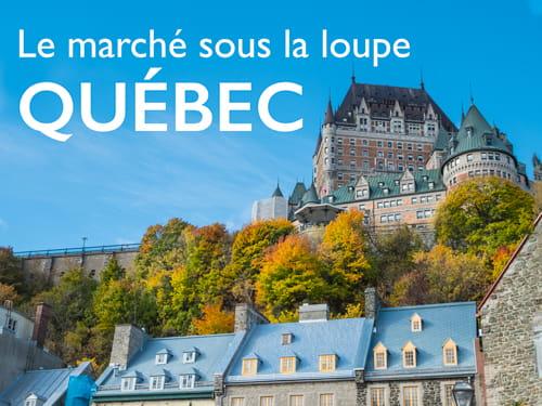 Le marché sous la loupe, Québec