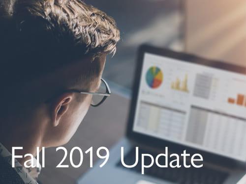 Fall 2019 Update