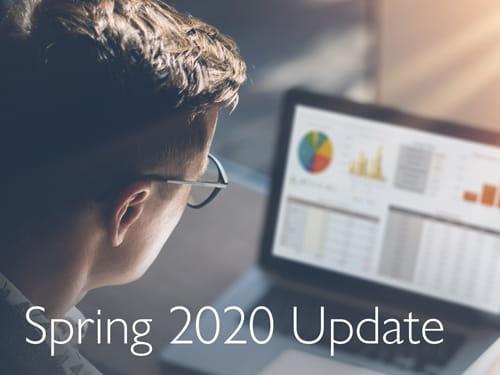 Spring 2020 Update
